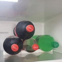 20201024_152825.jpg Download STL file Organizador de Botellas para heladera refrigerador o alacena • 3D printing object, ajquerio