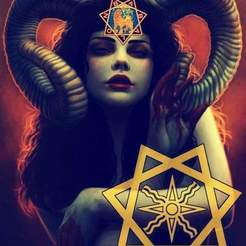 Download STL files Our lady Babylon , lucifersown99