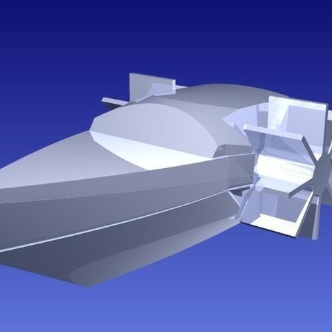 pb31_display_large.jpg Download free STL file Paddle Boat • 3D printable design, Pudedrik