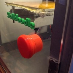 Free 3D printer files SoliDoodle Door Knob, Pudedrik