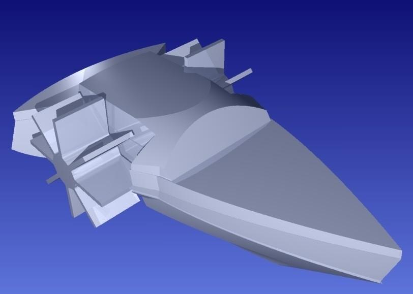 pb35_display_large.jpg Download free STL file Paddle Boat • 3D printable design, Pudedrik