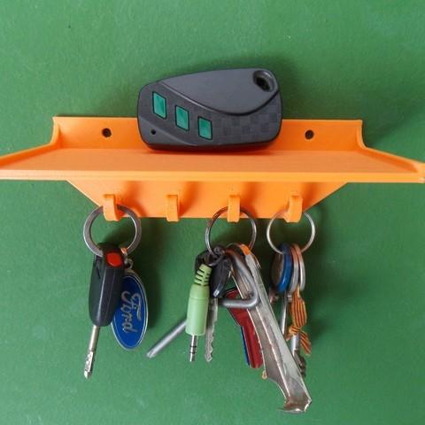 DSCN1256_display_large.JPG Télécharger fichier STL gratuit Porte-clés avec étagère • Objet imprimable en 3D, Pudedrik
