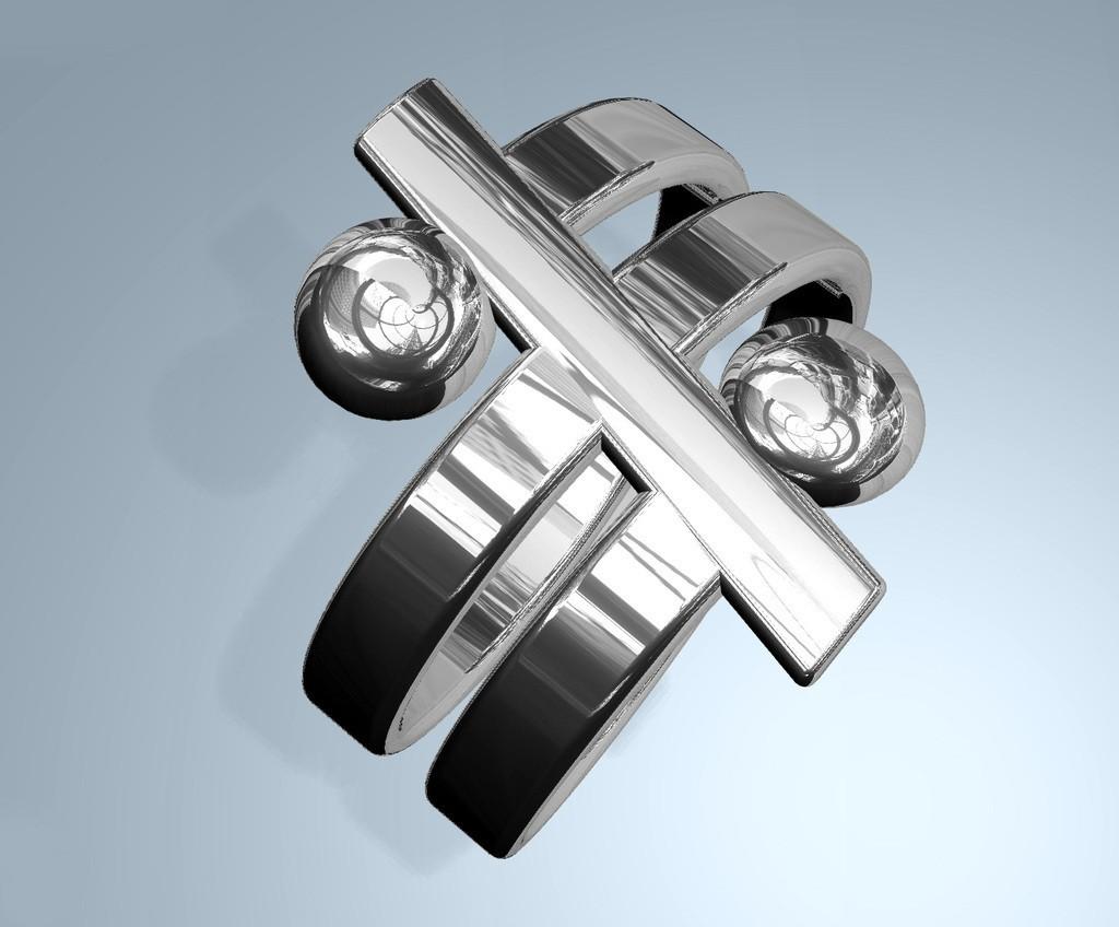 r1_display_large.jpg Download free STL file Friendship Ring • 3D printable design, Pudedrik