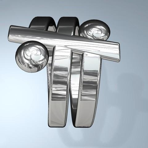 r3_display_large.jpg Download free STL file Friendship Ring • 3D printable design, Pudedrik