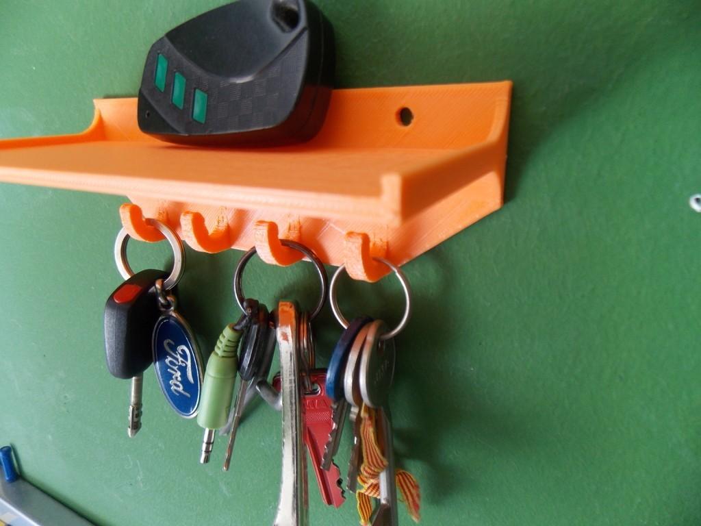 DSCN1259_display_large.JPG Télécharger fichier STL gratuit Porte-clés avec étagère • Objet imprimable en 3D, Pudedrik
