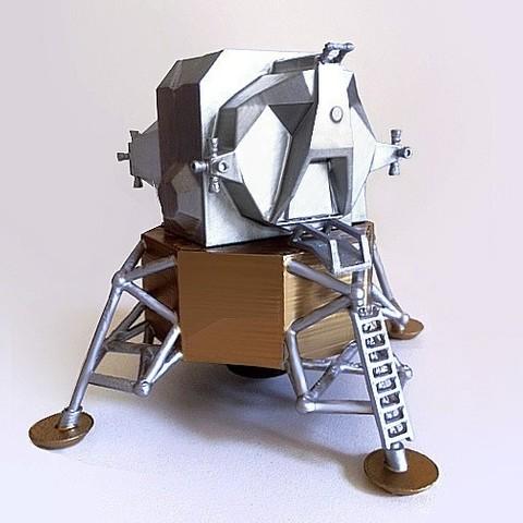 Télécharger objet 3D gratuit Apollo LEM, Pudedrik