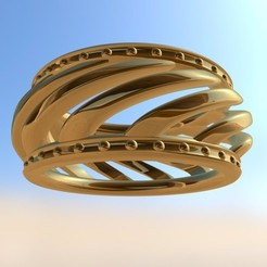 Free 3D printer model Bracelet, Pudedrik