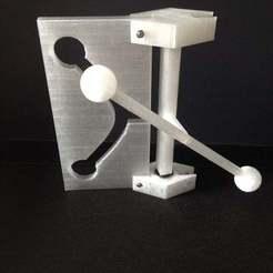 Télécharger fichier imprimante 3D gratuit expérience de table hyperbolique, Pudedrik
