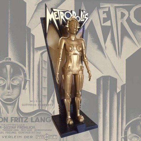 Download free STL Metropolis Hel Robot Stage, Pudedrik