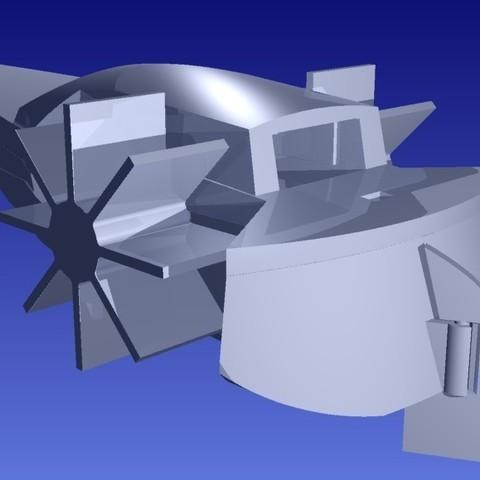 pb36_display_large.jpg Download free STL file Paddle Boat • 3D printable design, Pudedrik