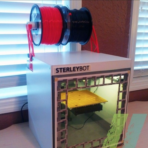 Download free 3D printing models Solidoodle Spool Holder Mk3, Pudedrik