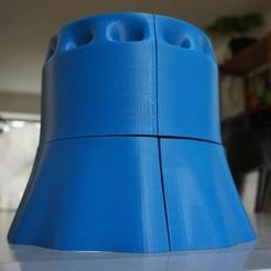 Free 3D printer designs Windtunnel for MC_Escher_WindMill, Beardoric