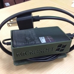 Download free STL file Surface Pro 3 Power Supply Enclosure, Beardoric
