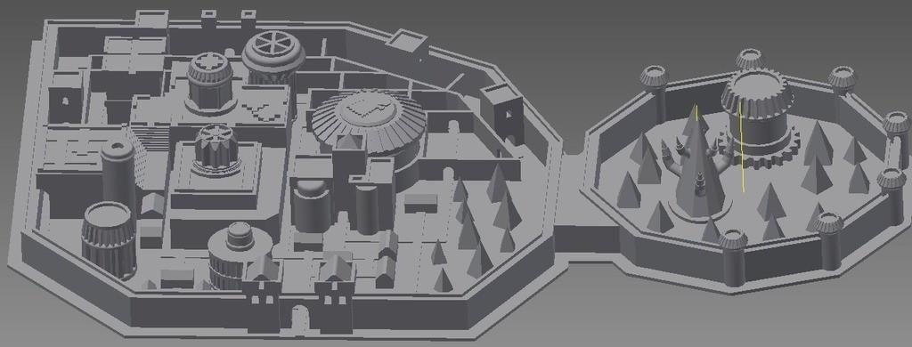 winterfell_display_large.jpg Télécharger fichier STL gratuit Winterfell • Objet pour impression 3D, Beardoric