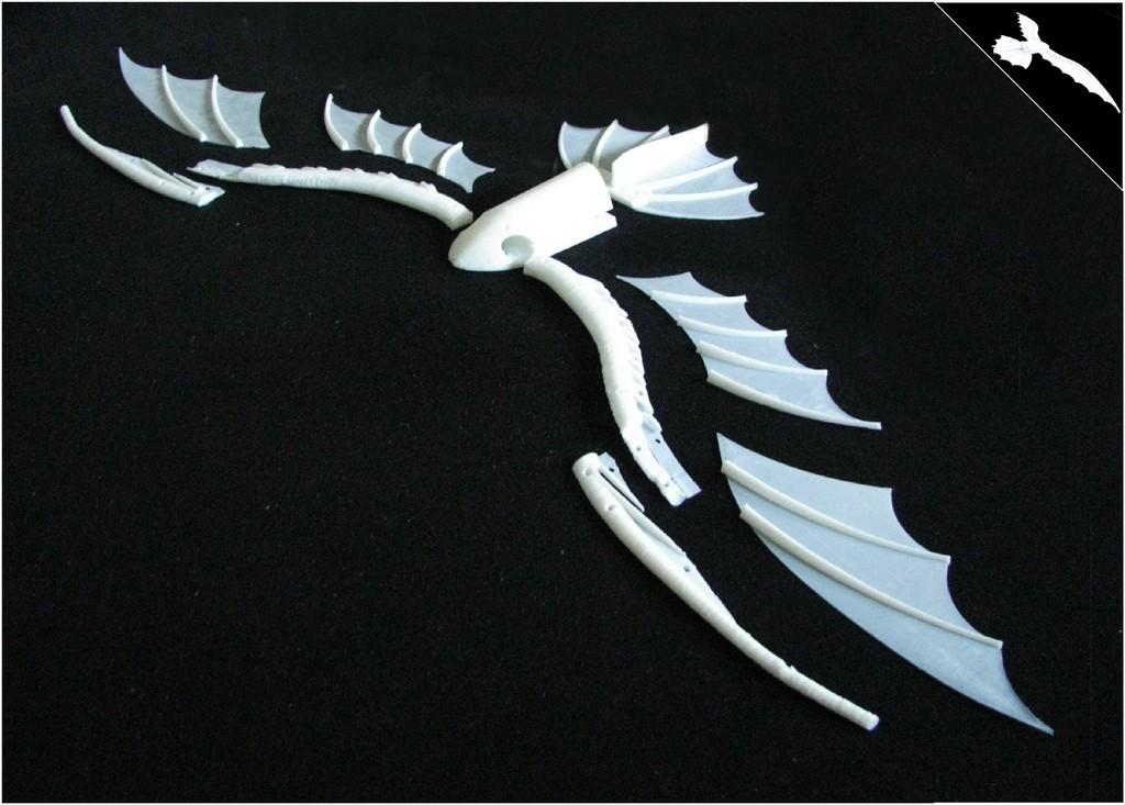 DaVinci_slike_Model_5_display_large.jpg Télécharger fichier STL gratuit Le cerf-volant de DaVinci • Plan pour imprimante 3D, Beardoric