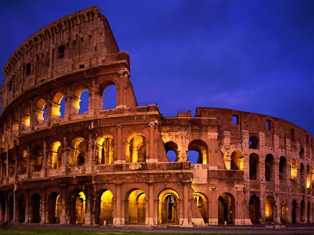 Colosseum_display_large.jpg Download free STL file New 7 Wonders Puzzle • 3D printing object, Beardoric