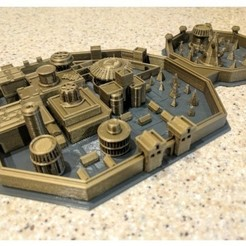 Free 3D printer files Winterfell, Beardoric