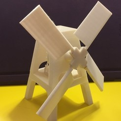 Download free 3D printer files Old Style Windmill, Beardoric