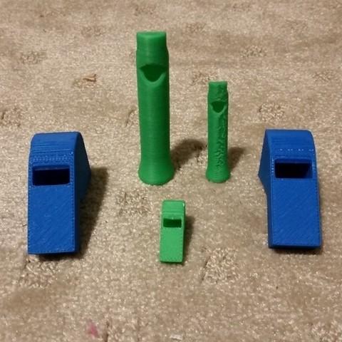 Download free 3D printer templates Whistles, Balkhubal