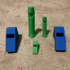 Download free 3D printer templates Whistles, Balkhubal