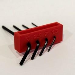 Imprimir en 3D gratis Llave Allen FlashForge Creator Pro, Balkhubal