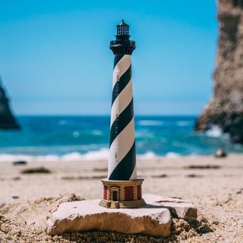 Free 3D printer files Cape Hatteras Lighthouse Desktop Model Kit, Balkhubal