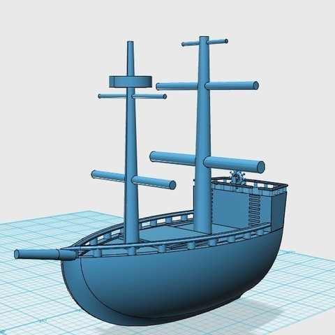 Download free 3D printing designs Pirate Ship, Balkhubal