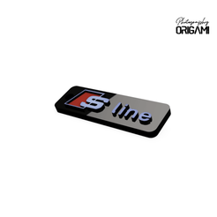 Descargar Modelos 3D para imprimir gratis Llavero S-Line Audi, Lahbib