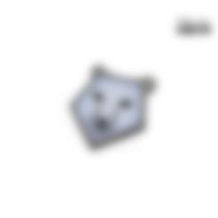 Descargar archivos STL gratis Oso de origami, Lahbib