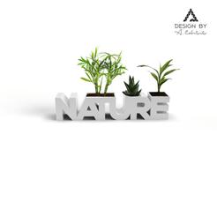 3Dimension1.png Télécharger fichier STL Jardinière Nature • Modèle imprimable en 3D, Lahbib
