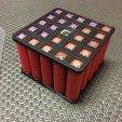IMG_1566.JPG Télécharger fichier STL gratuit 18650 Porte-piles (5x5/4x4/3x3/2x2/1x1) • Plan à imprimer en 3D, tylerebowers