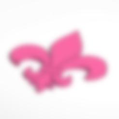 fleur-de-lis.stl Télécharger fichier STL gratuit fleur de lys • Objet à imprimer en 3D, tylerebowers