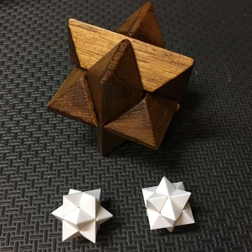 IMG_1782.JPG Télécharger fichier STL gratuit Puzzle 6 pièces 2 • Modèle pour imprimante 3D, tylerebowers