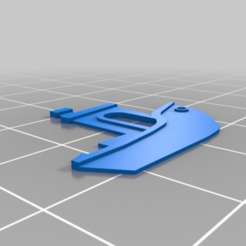 Download free 3D printer designs 2D Benchy, tylerebowers