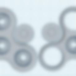 Télécharger fichier STL gratuit Fidget Spinner avec roulements à billes ne nécessite que des billes • Objet pour impression 3D, tylerebowers