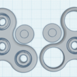 Capture.PNG Download free STL file Fidget Spinner with bearings only need BBs • 3D printable object, tylerebowers
