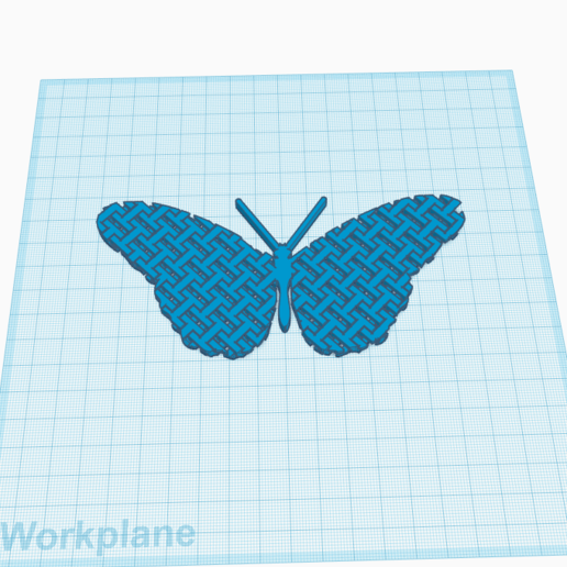 Chain_Mail_Butterfly.png Download free STL file Articulated Chain Mail Butterfly (Remix) • 3D print object, tylerebowers