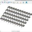Télécharger fichier STL gratuit Crochet pour Rideaux , mnsi2007
