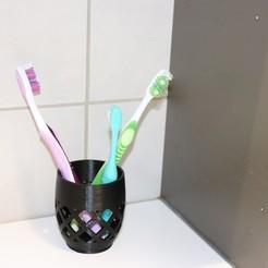 STL file Toothbrush vase  , rogersjunior5