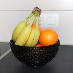 Download 3D printer files Voronoi FRUIT bASKET , rogersjunior5