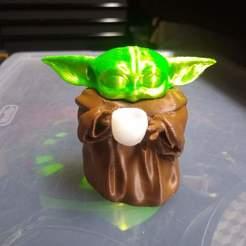 Download free 3D printing designs Baby yoda cup, cah027