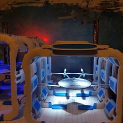 20190112_195958.jpg Download free STL file TANGO Starfleet Drydock 3D • 3D print template, PhillScott