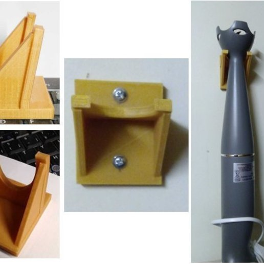 Download free STL file Support mixeur • 3D printable model, Jak13