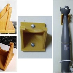 Download free 3D printer designs Support mixeur, Jak13