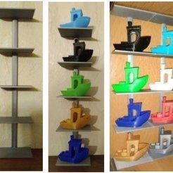 Download free 3D printing models Etagère pour miniatures, Jak13