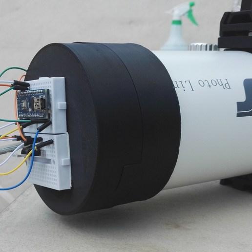 Télécharger fichier imprimante 3D gratuit Boite à plat à ruban LED variable - Boite à plat à ruban LED variable - TS 80/480 - Commande Arduino, gillesromani