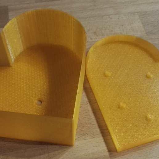Download free 3D printing models Heart planter / box, gillesromani