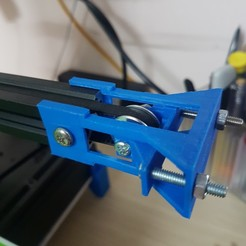 Download free 3D printer templates x-axis pulley holder, pttrung91
