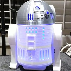 Descargar archivo 3D R2D2 SMART - Modelo Réplica, toddsworld