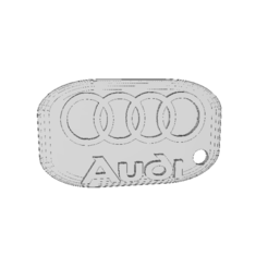 STL files AUDI key tag, hacena81